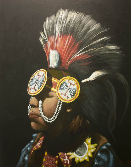 Logan Butler by Gregory Ballenger of the Institute of American Indian Arts